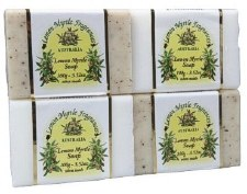 Lemon Myrtle Natural Soap (Plain) 100g