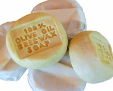 Olive Oil Soap Stone Rose Geranium
