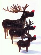 Rudolf rednosed Reindeer 23cms