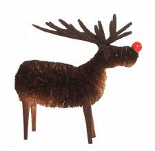 Rudolf rednosed Reindeer 13cms