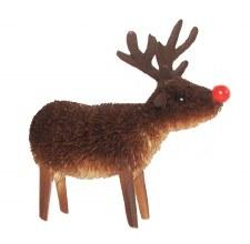Rudolf rednosed Reindeer 7cms