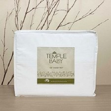 Cot Sheet Set Temple Organic Cotton