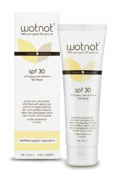 Wotnot Sunscreen for Face 75g All-in-one