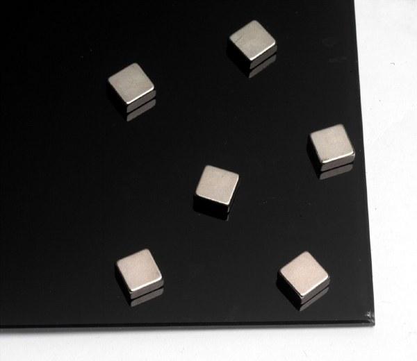 Naga Super Strong Square Steel Magnets Pack 6
