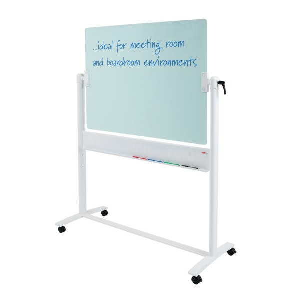 WriteOn Revolving Glass Board