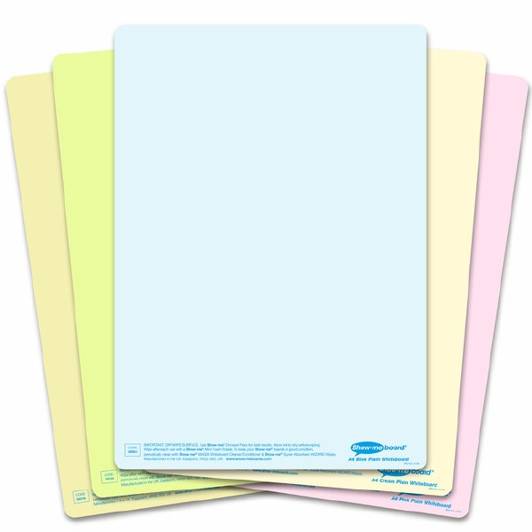 Show-Me Tinted Drywipe Boards