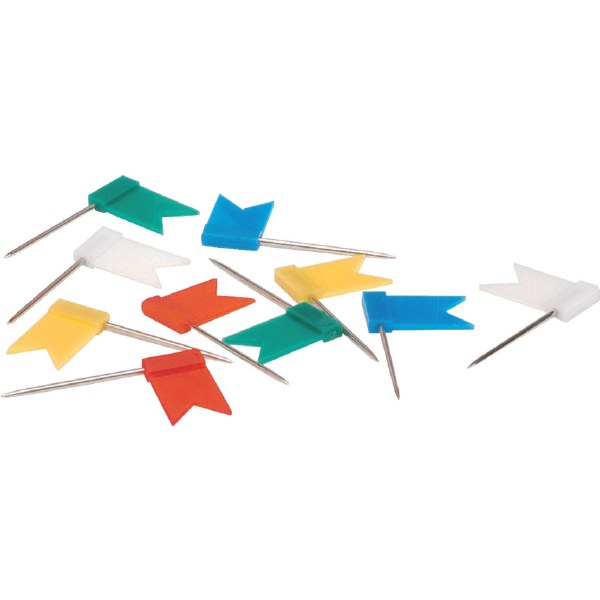 Marking Flags Assorted Pk100