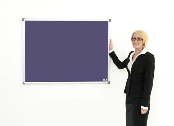 Antibacterial Display Boards Aluminium Frame