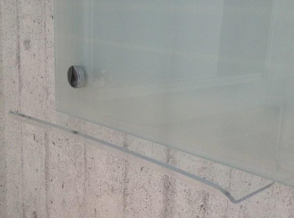 Corner Fixed Acrylic Pen Tray