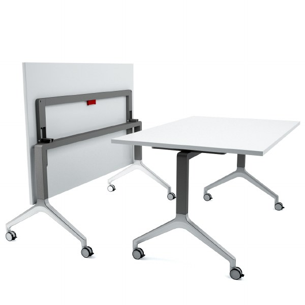 Deploy Flip Top Table 2400 x 900mm with Linoleum finish
