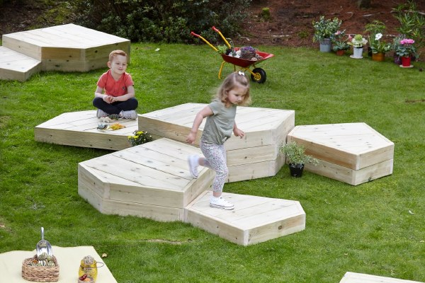 Outdoor Play Podiums