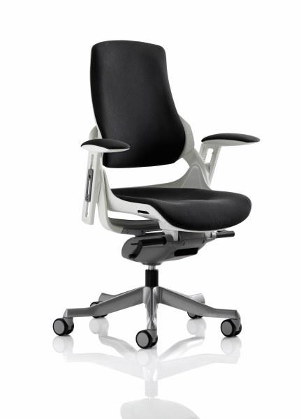 Zure Executive Chair Black Fabric
