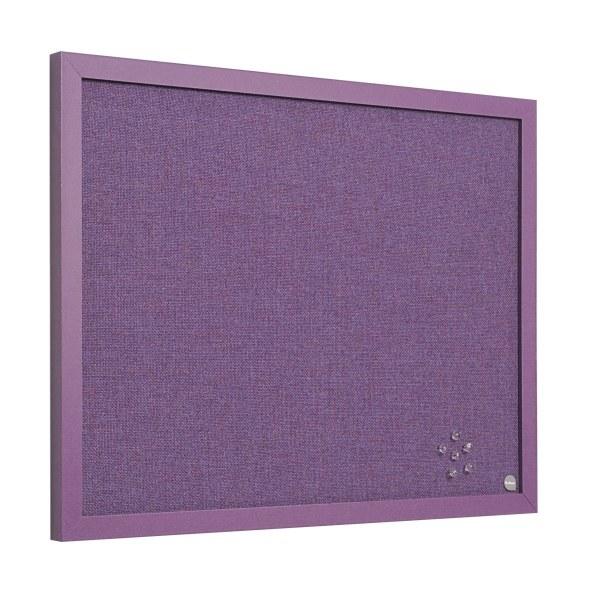 Bi-Office Noticeboard Lavender 600 x 450mm