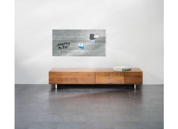 Artverum Brick Concrete and Slate Effect Glass Boards