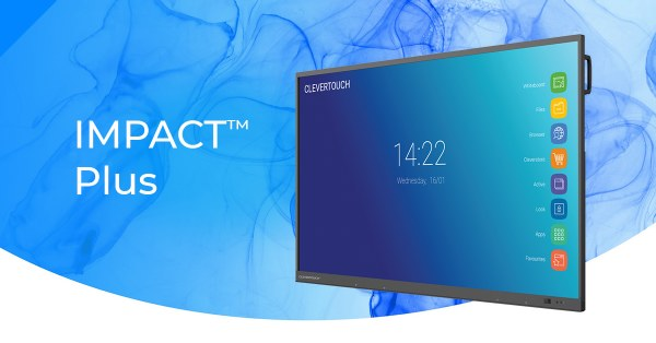 Clevertouch IMPACT PLUS 2 Series High Precision Touchscreen