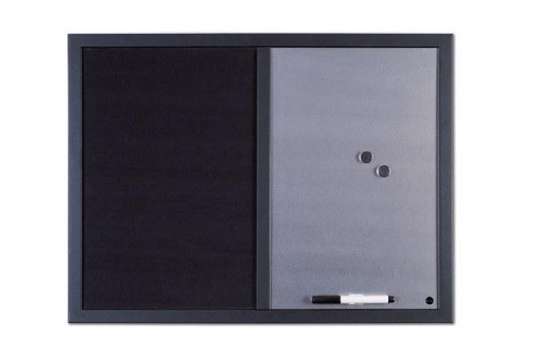 Combi Message Board Silver/Black
