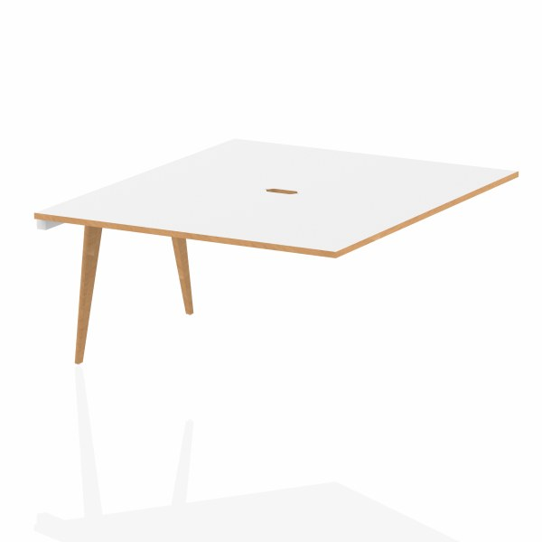 Oslo Bench - Pod of Two Extension Desks
