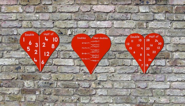 Hearts - Pack of 3