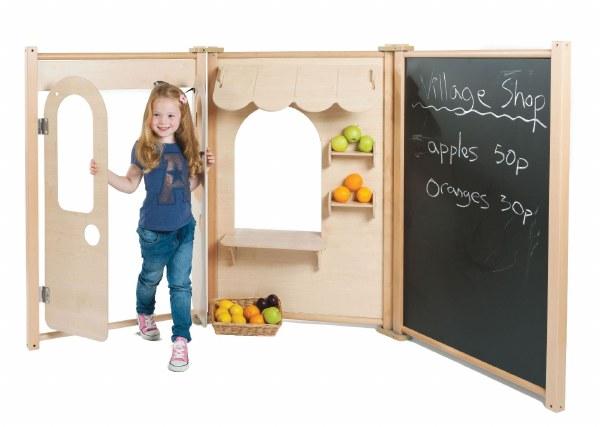 Maple 'Shop' 3 Panel Set