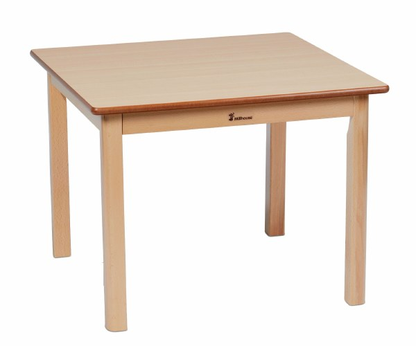Wooden Square Tables