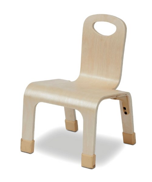 One Piece Chairs, Pack of 4