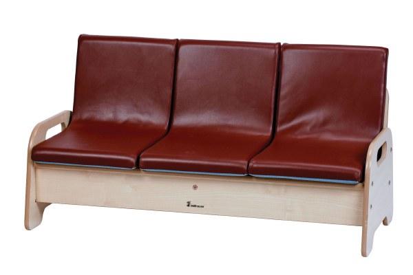 3-Seat Wooden Sofa