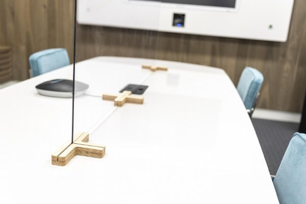 Clear Desk Divider Components