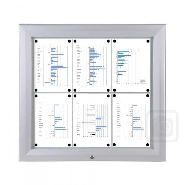 IP56 Outdoor Lockable Whiteboard