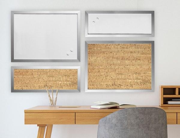 Bi-Office Positive Flow Silver Boards Set