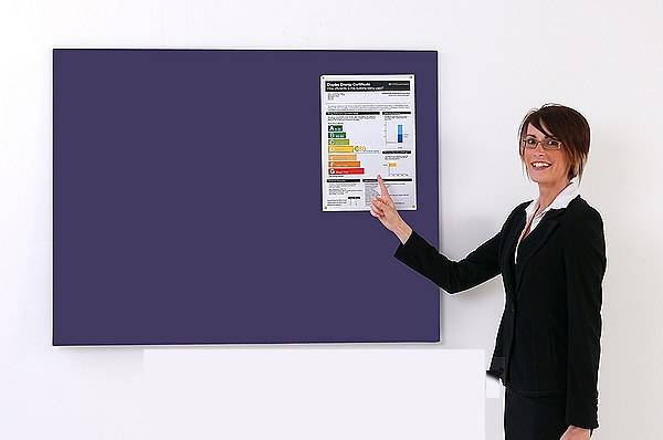 Antibacterial Display Boards Unframed