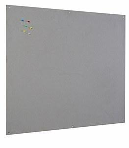 Bi-Office Grey Felt Noticeboard Unframed 900 x 600mm