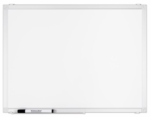 Boards Direct Dry-Wipe Whiteboards Aluminium Frame