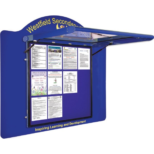 WeatherShield Contour Wall Mounted Outdoor Sign