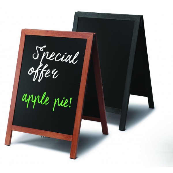 Chalk A-Boards Wooden Frame
