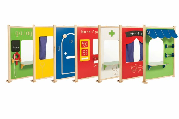 Coloured Role Play Panels