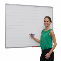 Non Magnetic Lined Whiteboards