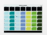 Naga Magnetic Glass Month Planner 120 x 90cm