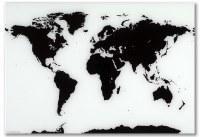 NAGA Magnetic Glass World Map