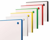 WriteOn Coloured Edge Whiteboards