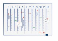 Accents Linear Year Planner 60x90cm