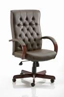 Chesterfield Leather Armchair