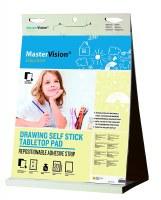 Bi-Office Table Top Flipchart Pad 500 x 585mm Pack of 6
