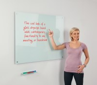 WriteOn Magnetic Glass Boards White