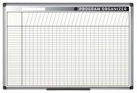 Bi-Office Magnetic Program Organiser 900 x 600mm
