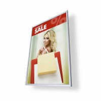 Double Sided Hanging Poster Frames