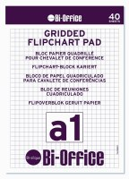 Bi-Office A1 Gridded Flipchart Pads Pk5