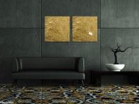 'Artverum' Metal Design Glass Boards