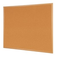 Eco-friendly Wood Effect Frame Cork Noticeboards