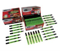 Slim Barrel Black Drywipe Pens