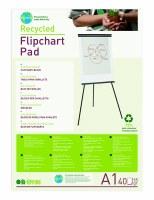 Bi- Office 'Earth-It' A1 Plain Flipchart Pad Pk 5